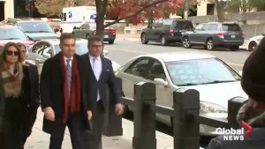 CNN's Jim Acosta arrives at court to fight for White House credential